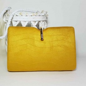 Yellow party bag style Gancho