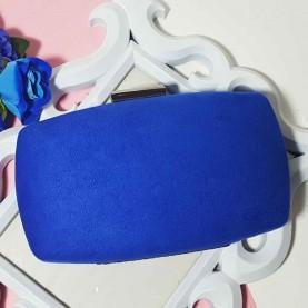 Bolso de fiesta azul Rina