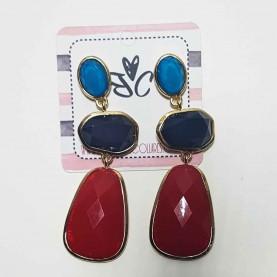 Long earrings style Nayara