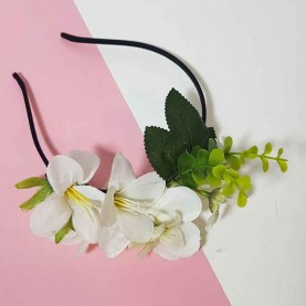 Diadema con flores Raim