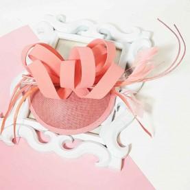 Light pink headdress