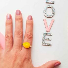 May yellow ring