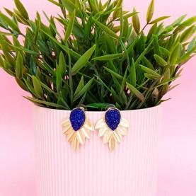Blue Earrings Dafne