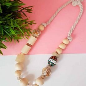 Necklace wood Nala
