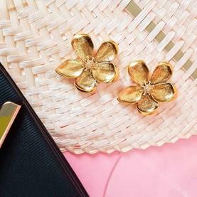Flower Golden Earrings