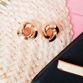 Golden Earrings Enlazado
