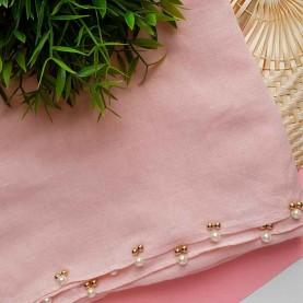 Pink Scarf Pearl