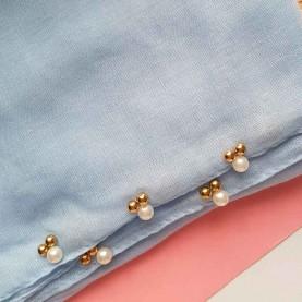 Blue Scarf Pearl