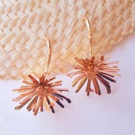 Golden Earrings Flora