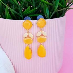 Yellow Earrings Berta