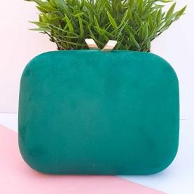 Bolso verde de fiesta
