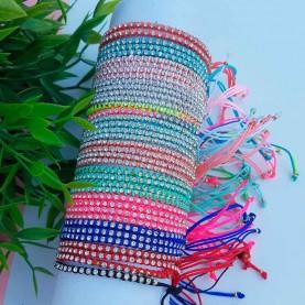 Shine thread bracelets