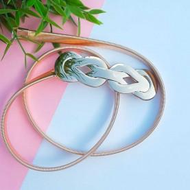 Elastic Belt Knots