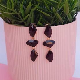 Black Earrings Alba