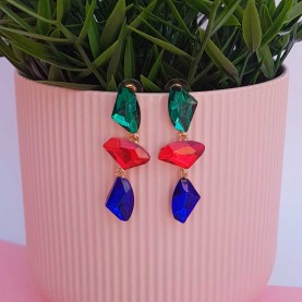 Multicolor Earrings Alba