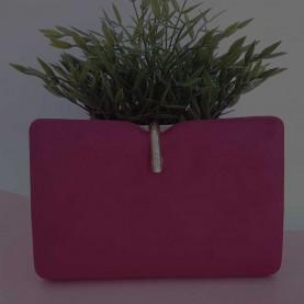 Bolso invitada rojo purpura