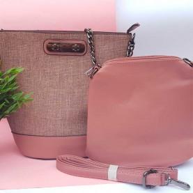 Pink Multiposition Bag