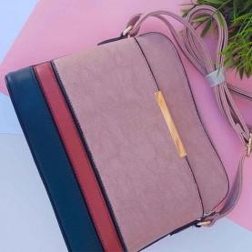 Shoulder bag Mixed Pink