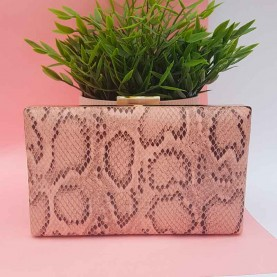 Snake bag Pink