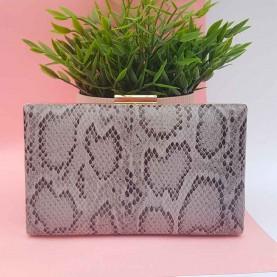 Snake bag Grey