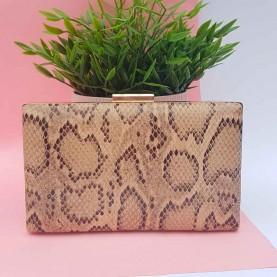 Snake bag Beige