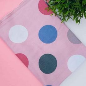 Fular Cercles Pink