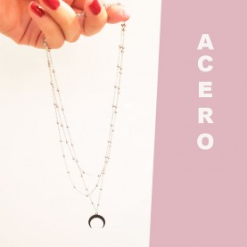 copy of Necklace Triple MoonO