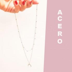 Necklace Triple MoonP