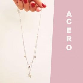 Necklace double Estrella