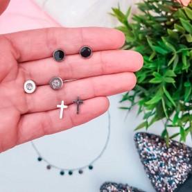 Pack earrings Crois