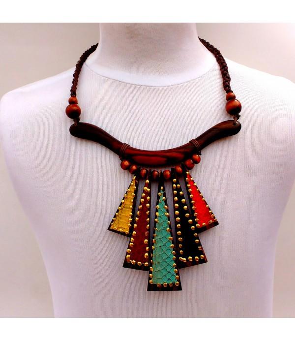 c2d293c2484d Collar madera natural - Comprar collares online
