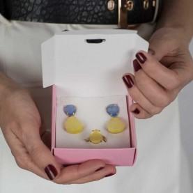 Pack Ring & Earrings P004
