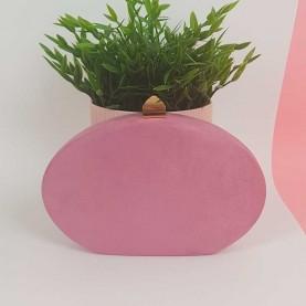 Oval Bag Purple L.