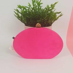 Oval Bag Fuchsia