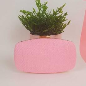 Bag Pink Rafia