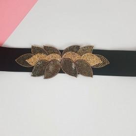 Belt Black and Golden