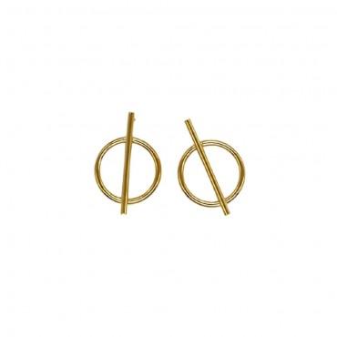 Golden Earrings Aina