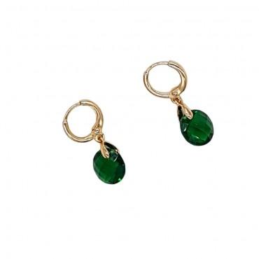Mini hoop Stone Green