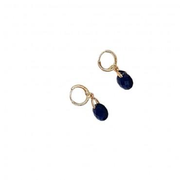 Mini hoop Stone Blue