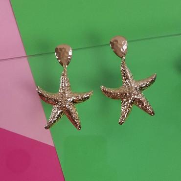 Earrings Sea Star