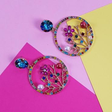 Circular Earrings Marga