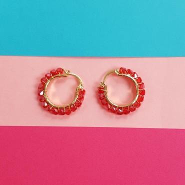 Earrings Red Abby