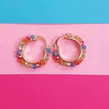 Earrings multicolor Abby