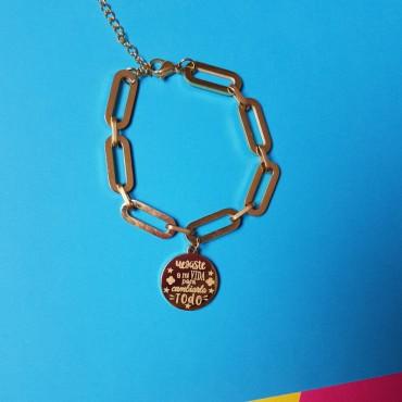 Steel Bracelet Life