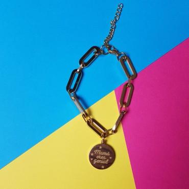 Steel Bracelet Mum