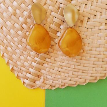 Mustard earrings Trina