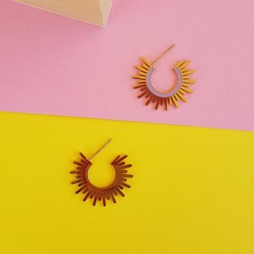 Steel Earrings SolG