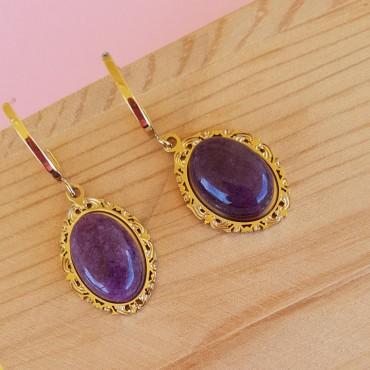 Steel Victorian Earrings...