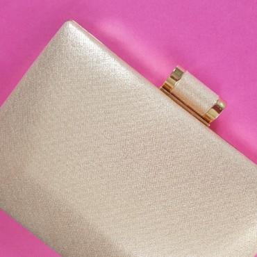 Bag pink Golden