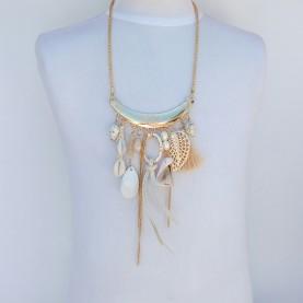 Short neck lace 10053